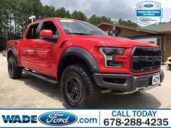 2018 Ford F-150 Raptor Truck Automatic 4X4 V-6 3.5 L/213 Engine