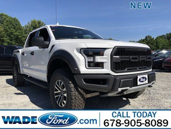 2019 Oxford White Ford F-150 Raptor 4X4 Truck Automatic Twin Turbo Regular Unleaded V-6 3.5 L/213 Engine 4 Door
