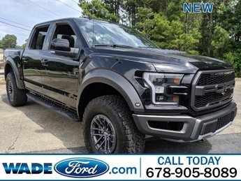 2019 Agate Black Metallic Ford F-150 Raptor Twin Turbo Regular Unleaded V-6 3.5 L/213 Engine 4X4 4 Door Truck Automatic