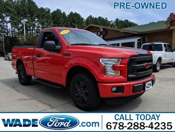 2016 Race Red Ford F-150 XL Truck RWD V-6 3.5 L/213 Engine Automatic