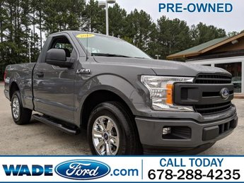 2018 Ford F-150 XL V-6 2.7 L/164 Engine Automatic RWD Truck