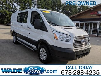 2017 Oxford White Ford Transit Van 3 Door Van V-6 3.7 L/228 Engine Automatic