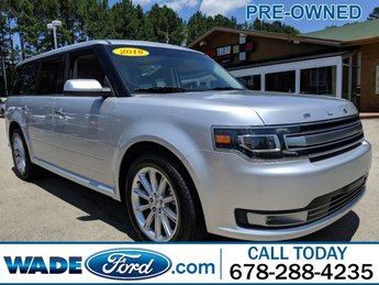 2018 Ford Flex Limited FWD Regular Unleaded V-6 3.5 L/213 Engine 4 Door