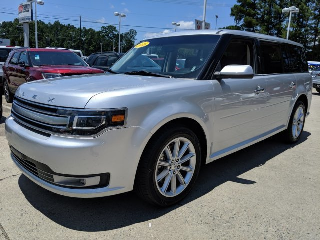 2018 Ford Flex Limited Automatic SUV FWD 4 Door V-6 3.5 L/213 Engine