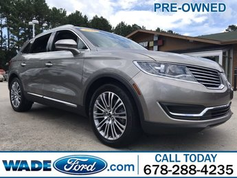 2016 Luxe Metallic Lincoln MKX Reserve FWD Automatic V-6 3.7 L/227 Engine SUV 4 Door