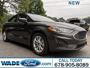 2019 Ford Fusion SE Automatic Sedan Intercooled Turbo Regular Unleaded I-4 1.5 L/91 Engine 4 Door FWD