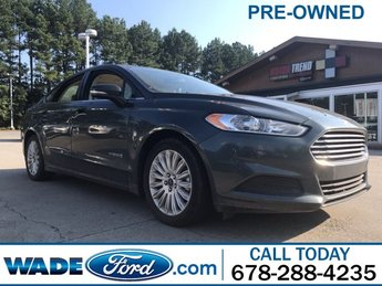 2015 Ford Fusion SE Hybrid Automatic (CVT) FWD Sedan 4 Door I-4 2.0 L/122 Engine