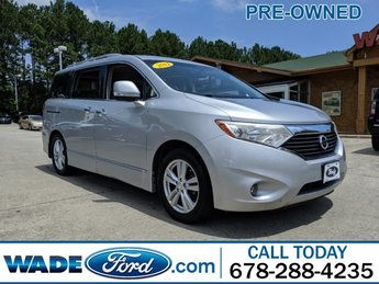 2011 Brilliant Silver Nissan Quest SL FWD 4 Door Van