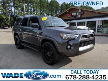 2016 Magnetic Gray Metallic Toyota 4Runner SR5 RWD V-6 4.0 L/241 Engine 4 Door