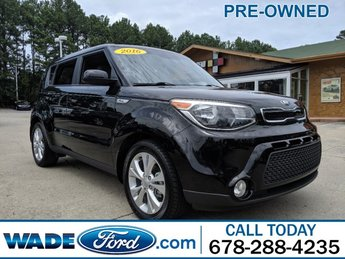 2016 Kia Soul + FWD 4 Door Automatic I-4 2.0 L/122 Engine Crossover