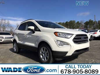 2019 Diamond White Ford EcoSport SE Automatic SUV FWD