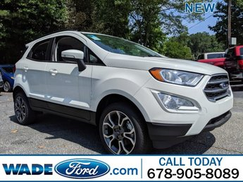 2018 Ford EcoSport SE AWD Automatic SUV Regular Unleaded I-4 2.0 L/122 Engine 4 Door