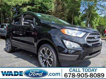 2018 Shadow Black Ford EcoSport SE Regular Unleaded I-4 2.0 L/122 Engine Automatic SUV AWD