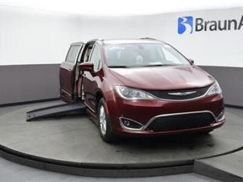 2020 Red Velvet Chrysler Pacifica Touring-l Van