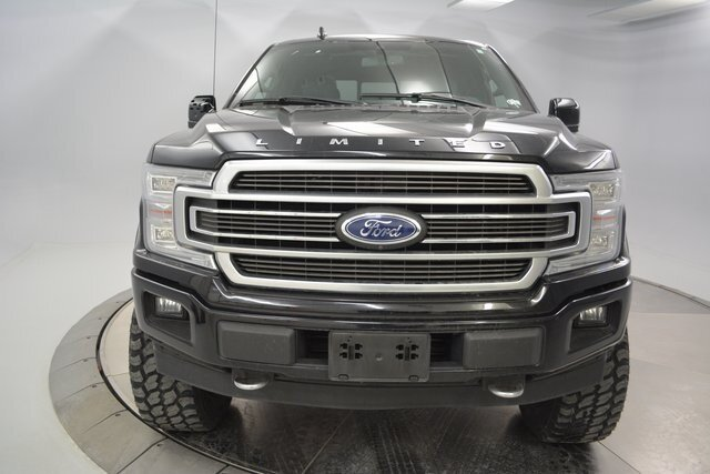2018 Ford F-150 Limited EcoBoost 3.5L V6 GTDi DOHC 24V Twin Turbocharged Engine 4 Door Automatic