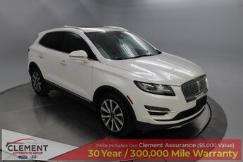 2019 Ceramic Pearl Metallic Tri-Coat Lincoln MKC Reserve 4 Door SUV AWD Automatic 2.0L I4 Engine