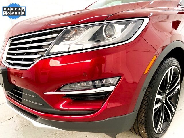 2017 Ruby Red Metallic Tinted Clearcoat Lincoln MKC Black Label 2.3L GTDI Engine Automatic SUV 4 Door