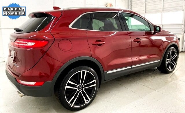 2017 Ruby Red Metallic Tinted Clearcoat Lincoln MKC Black Label 4 Door SUV Automatic