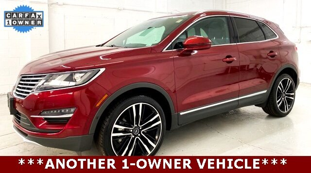 2017 Ruby Red Metallic Tinted Clearcoat Lincoln MKC Black Label 2.3L GTDI Engine Automatic AWD 4 Door SUV