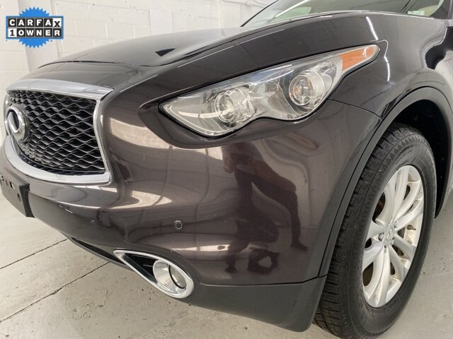 2017 Midnight Mocha INFINITI QX70 Base 4 Door SUV Automatic AWD 3.7L V6 Engine