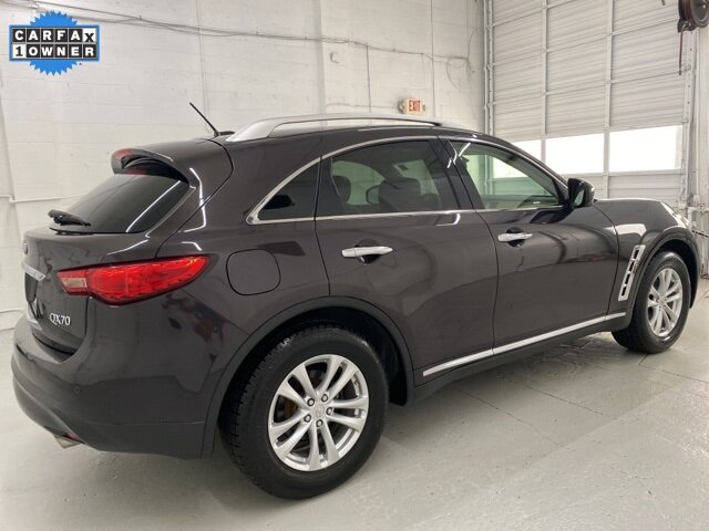 2017 Midnight Mocha INFINITI QX70 Base 3.7L V6 Engine SUV AWD