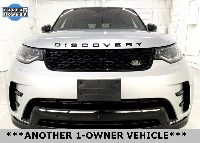 2017 Indus Silver Metallic Land Rover Discovery HSE Luxury 4 Door 4X4 SUV Automatic V6 Supercharged Engine