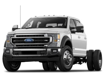2021 Ford Super Duty F-550 DRW XL 4 Door Intercooled Turbo Diesel V-8 6.7 L/406 Engine 4X4 Automatic Truck