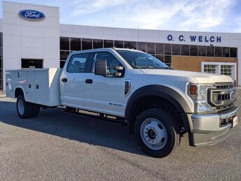 2021 Ford Super Duty F-550 DRW XL 4X4 Automatic Intercooled Turbo Diesel V-8 6.7 L/406 Engine