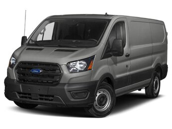 2021 Avalanche Gray Metallic Ford Transit Cargo Van 3 Door RWD Van