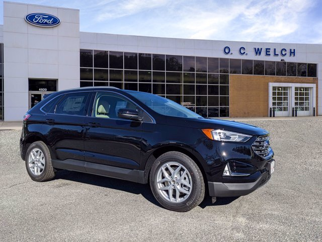2021 Agate Black Metallic Ford Edge SEL 4 Door SUV Intercooled Turbo Premium Unleaded I-4 2.0 L/122 Engine