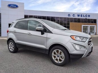 2021 Moondust Silver Metallic Ford EcoSport SE 4 Door Automatic Intercooled Turbo Regular Unleaded I-3 1.0 L/61 Engine SUV FWD