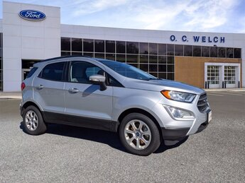 2021 Moondust Silver Metallic Ford EcoSport SE 4 Door Automatic SUV