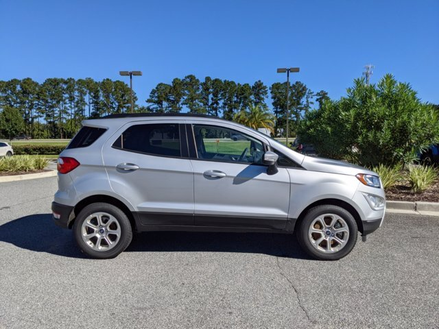 2021 Moondust Silver Metallic Ford EcoSport SE Automatic SUV FWD 4 Door Intercooled Turbo Regular Unleaded I-3 1.0 L/61 Engine