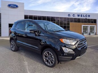 2021 Shadow Black Ford EcoSport Titanium SUV Automatic Regular Unleaded I-4 2.0 L/122 Engine AWD