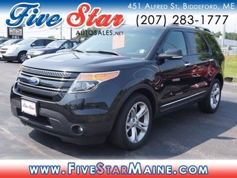 2015 Tuxedo Black Metallic Ford Explorer Limited Automatic 4 Door SUV 4X4