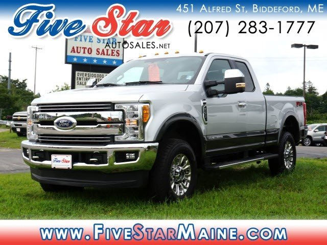 2017 Ford Super Duty F-250 SRW Diesel 4X4 Truck Automatic