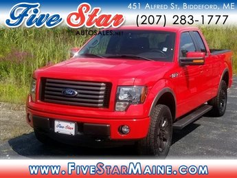 2012 Race Red Ford F-150 FX4 2 Door Truck Automatic
