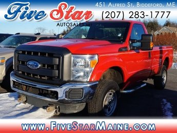 2011 Vermillion Red Ford Super Duty F-350 SRW XL 4X4 Automatic 2 Door Truck