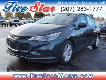 2018 Satin Steel Metallic Chevy Cruze LT 4 Door FWD Sedan