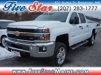 2015 Summit White Chevy Silverado 2500HD LT 4 Door 4X4 Truck