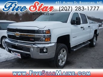 2015 Chevy Silverado 2500HD LT 4X4 4 Door Automatic Truck