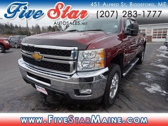 2013 Chevy Silverado 2500HD LT Automatic 4 Door 4X4 Truck