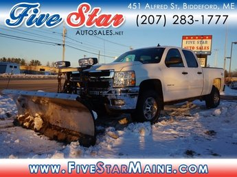 2012 Summit White Chevy Silverado 2500HD LT Automatic 4X4 4 Door Truck