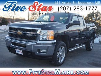 2011 Black Chevy Silverado 2500HD LTZ Automatic Truck 4X4 2 Door