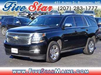 2015 Black Chevy Tahoe LTZ SUV Automatic 4 Door 4X4