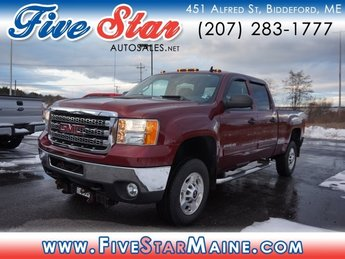 2013 Dark Toreador Red GMC Sierra 2500HD SLE Automatic Truck 4X4 4 Door
