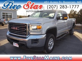2017 Quicksilver Metallic GMC Sierra 2500HD SLE Truck 4 Door Automatic 4X4