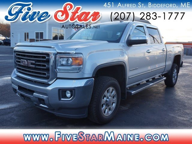 2015 GMC Sierra 2500HD SLT 4 Door 4X4 Truck Automatic