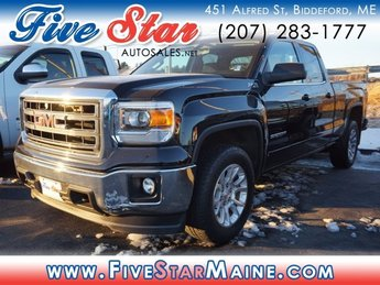 2015 Onyx Black GMC Sierra 1500 SLE 4 Door Truck 4X4 Automatic