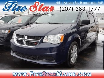 2015 True Blue Pearlcoat Dodge Grand Caravan American Value Pkg Automatic Van 4 Door